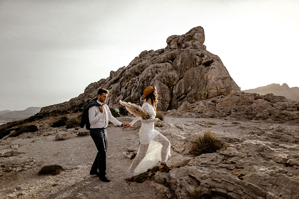 Elopement Wedding auf Mallorca